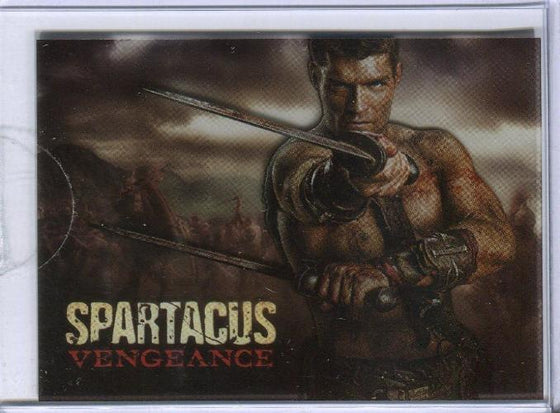 Spartacus Premium Packs Vengeance Box Topper Plastic Poster Chase Card CT1 Front