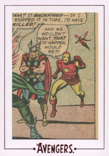 Avengers The Silver Age Comic Archive Cuts Chase Card AV16 #57/179   - TvMovieCards.com
