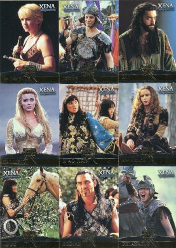 Xena Seasons 4 and 5 Allies Chase Card Set F1 - F9   - TvMovieCards.com