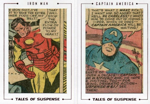 Avengers The Silver Age Double Comic Archive Cuts Chase Card TS60 #39/52   - TvMovieCards.com