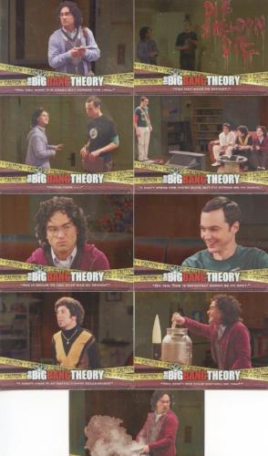 Big Bang Theory Seasons 3 & 4 The Elevator Chase Card Set 9 Cards   - TvMovieCards.com