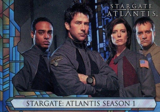 Stargate Atlantis Season One Promo Card SD2005   - TvMovieCards.com