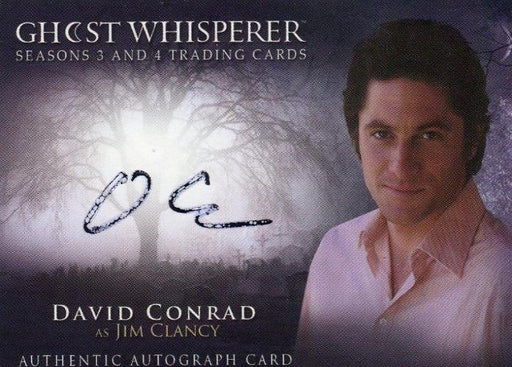 Ghost Whisperer Seasons 3 & 4 David Conrad as Jim Clancy Autograph Card   - TvMovieCards.com