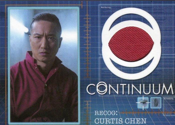 Continuum Seasons 1 & 2 Curtis Chen Costume Card CC14 #023/125 Front