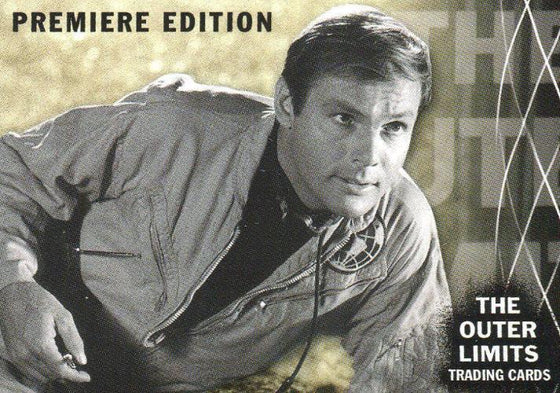 Outer Limits Premiere Edition Promo Card (3 Autograph Cards Back) Front