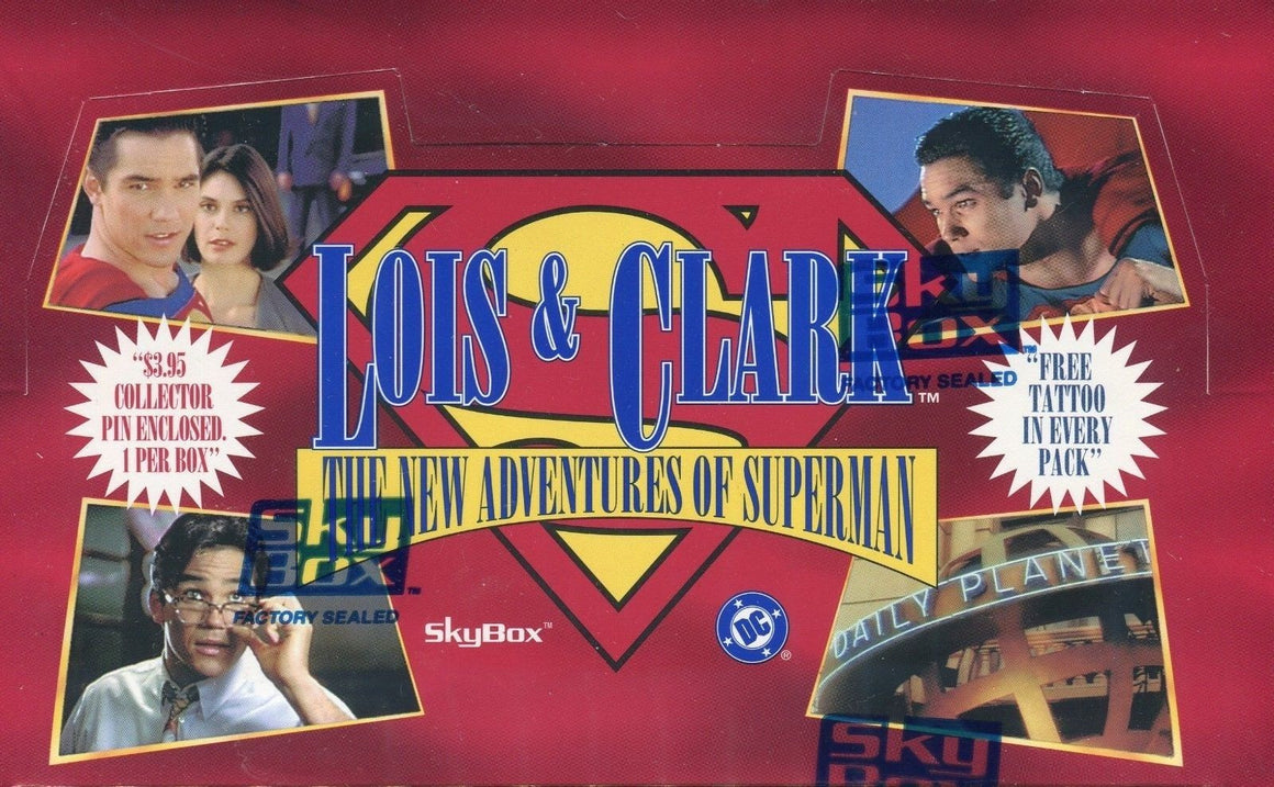 Lois & Clark The New Adventures of Superman Card Box