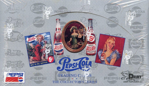 Pepsi Cola Series One Card Box   - TvMovieCards.com