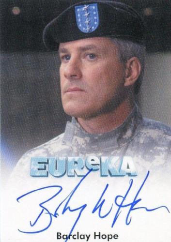 Eureka Seasons 1 & 2 Barclay Hope as General Mansfield Autograph Card   - TvMovieCards.com