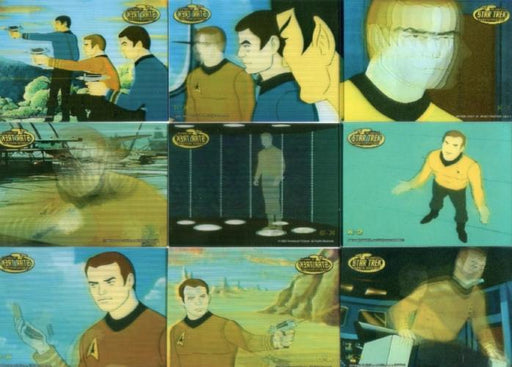 Star Trek The Complete Animated Adventures Kirk in Motion Chase Card Set   - TvMovieCards.com