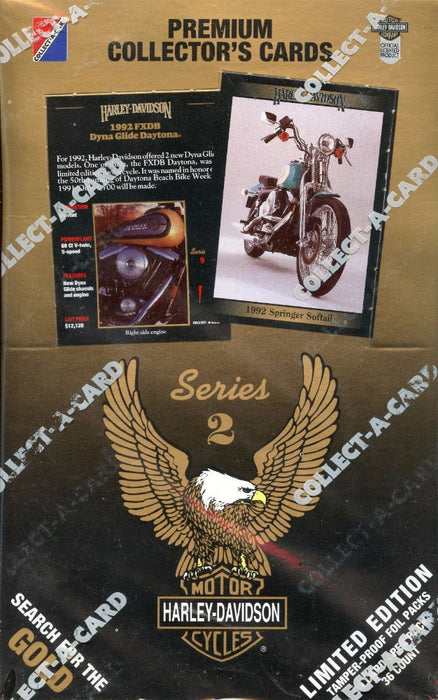 Harley Davidson Series Two Card Box   - TvMovieCards.com
