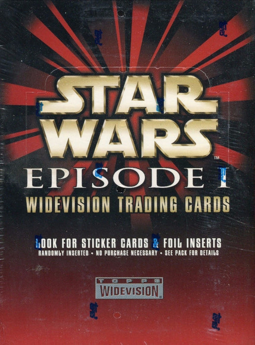 Star Wars Episode I Widevision Card Box   - TvMovieCards.com