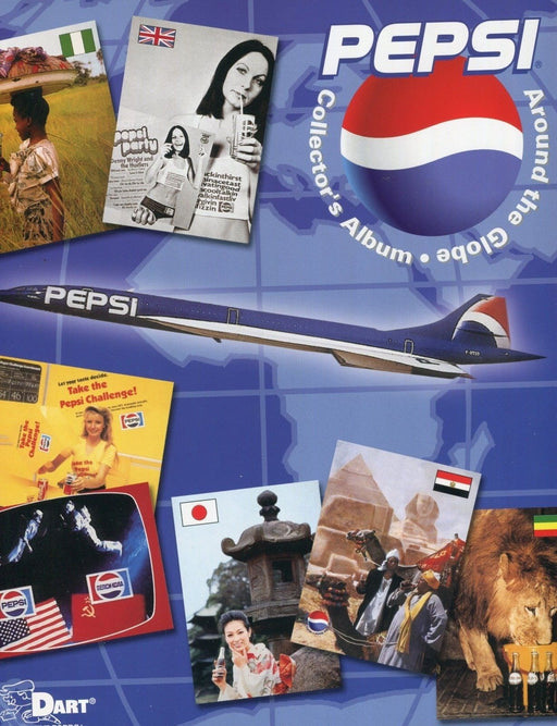 Pepsi Around the Globe Card Album   - TvMovieCards.com