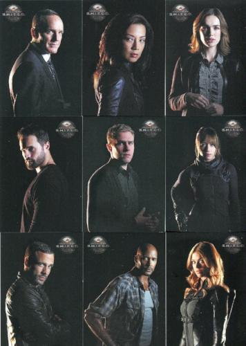 Agents of S.H.I.E.L.D. Season 2 Agents Chase Card Set 9 Cards   - TvMovieCards.com