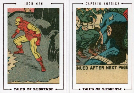 Avengers The Silver Age Double Comic Archive Cuts Chase Card TS67 #27/44   - TvMovieCards.com