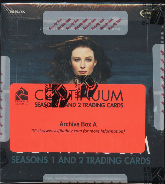 Continuum Seasons 1 and 2 Archive A + B Card Box