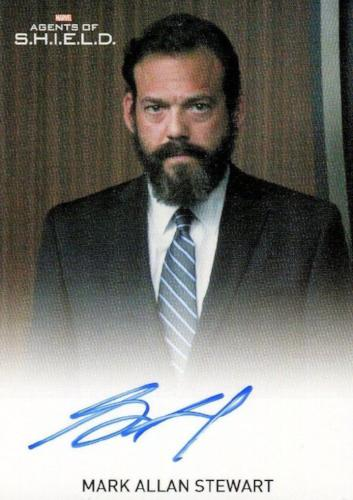 Agents of S.H.I.E.L.D. Season 2 Mark Allan Stewart Autograph Card   - TvMovieCards.com
