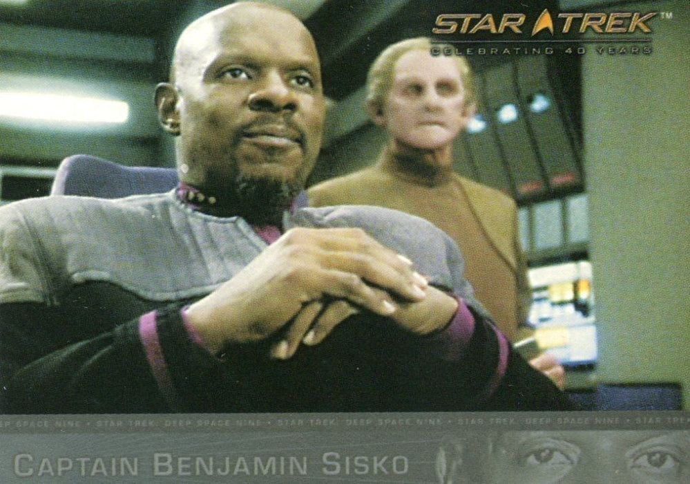 Star Trek Celebrating 40 Years Card Album   - TvMovieCards.com
