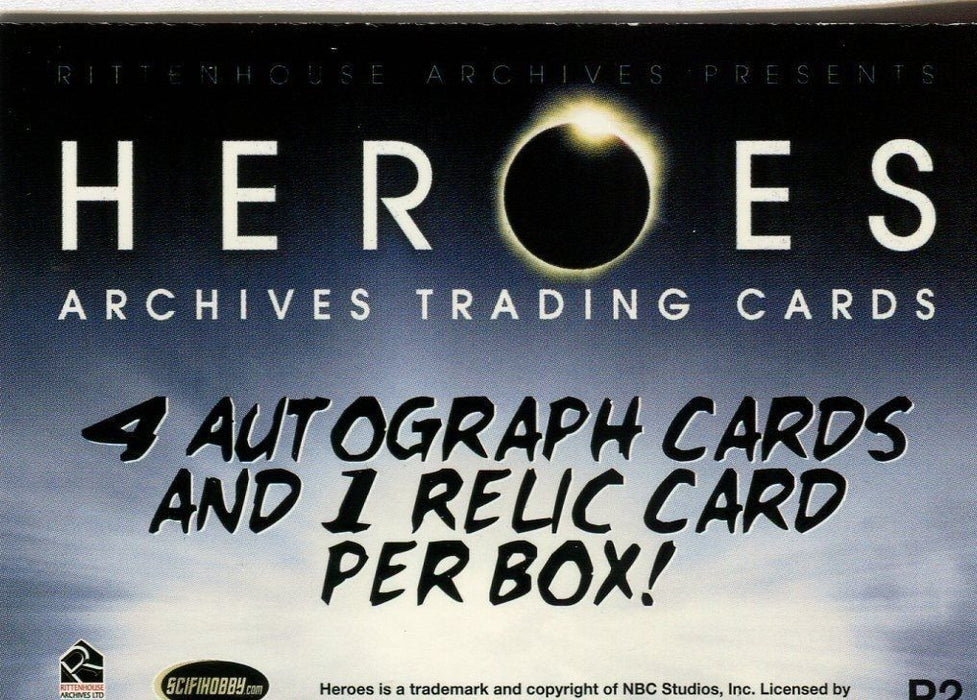Heroes Archives Card Album   - TvMovieCards.com