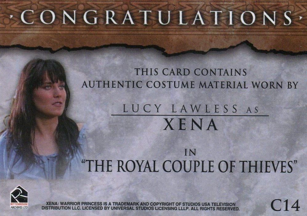 Xena The Quotable Xena Card Album   - TvMovieCards.com