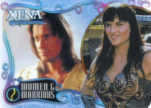 Xena Art & Images Women and Warriors Cell Chase Card WW2 #495/500   - TvMovieCards.com