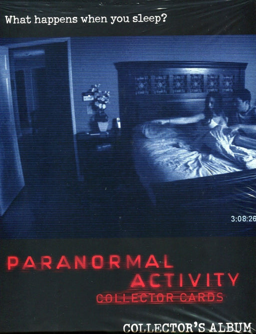 Paranormal Activity Movie Card Album   - TvMovieCards.com