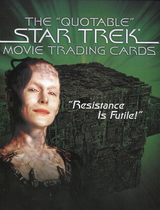 Star Trek Quotable Movies Card Album   - TvMovieCards.com