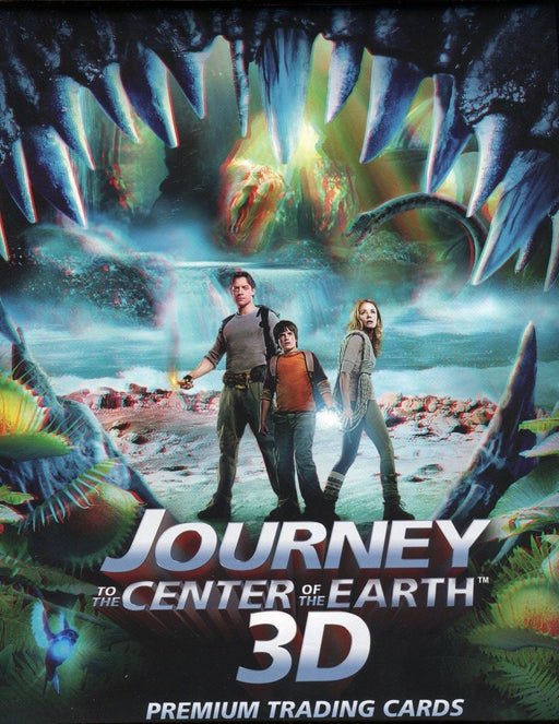 Journey to the Center of the Earth 3D Movie Card Album   - TvMovieCards.com