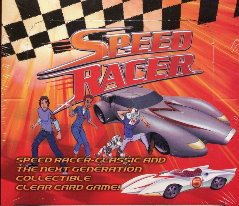 Speed Racer Next Generation Clear Card Game Box   - TvMovieCards.com