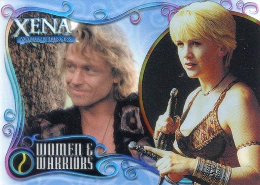Xena Art & Images Women and Warriors Cell Chase Card WW4 #098/500   - TvMovieCards.com