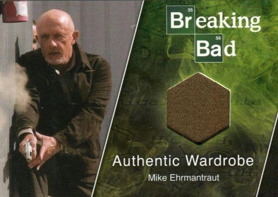 Breaking Bad Seasons 1-5 Mike Ehrmantraut Wardrobe Costume Card M10 Front