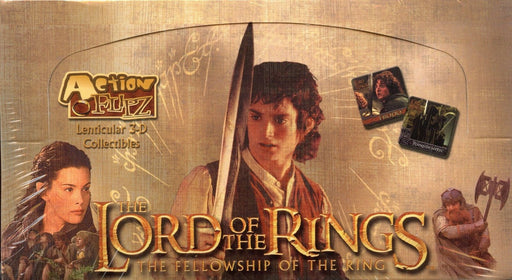 Lord of the Rings Fellowship of the Ring Action Flipz Card Box   - TvMovieCards.com