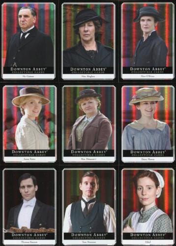 Downton Abbey Seasons 1 & 2 Downstairs Chase Card Set 14 Cards   - TvMovieCards.com