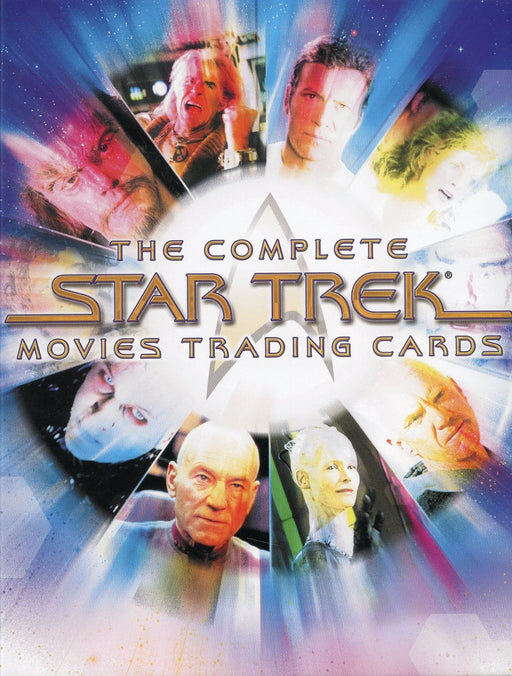Star Trek The Complete Star Trek Movies Card Album   - TvMovieCards.com