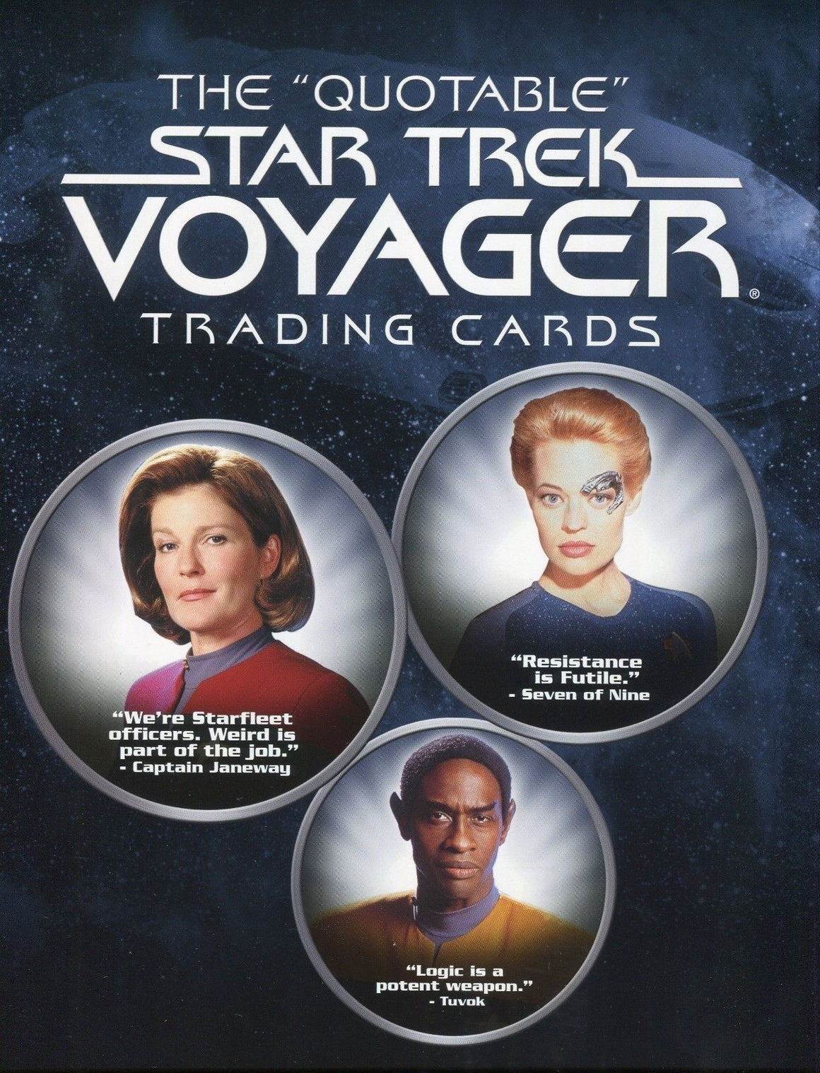 Star Trek Voyager The Quotable Star Trek Voyager Card Album