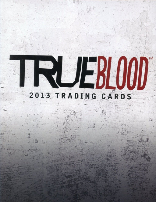 True Blood 2013 Edition Archives Card Album with Promo Card P3   - TvMovieCards.com