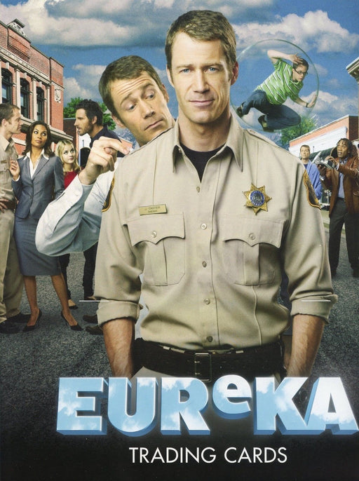Eureka Seasons 1 & 2 Collector Card Album   - TvMovieCards.com