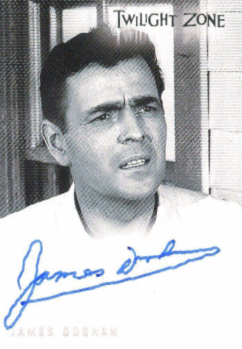 Twilight Zone 4 Science and Superstition James Doohan Autograph Card A-95
