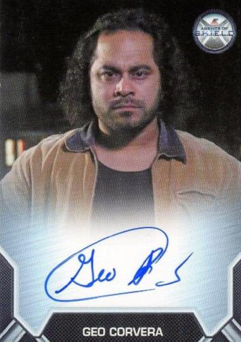 Agents of S.H.I.E.L.D. Season 2 Geo Corvera Autograph Card   - TvMovieCards.com