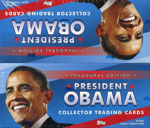 President Obama Inaugural Edition Hobby Card Box   - TvMovieCards.com