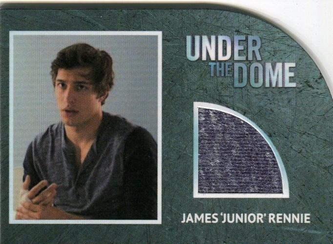 "Under the Dome Season 1 James ""Junior"" Rennie Costume Card R9 #048/200   - TvMovieCards.com"