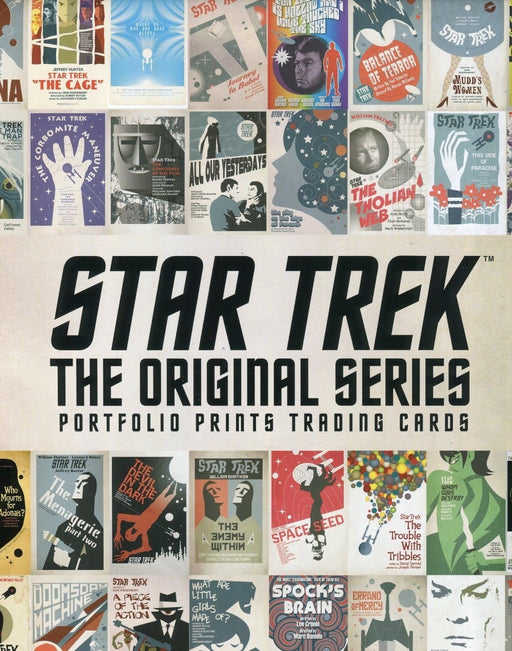 Star Trek The Original Series TOS Portfolio Prints Card Album   - TvMovieCards.com