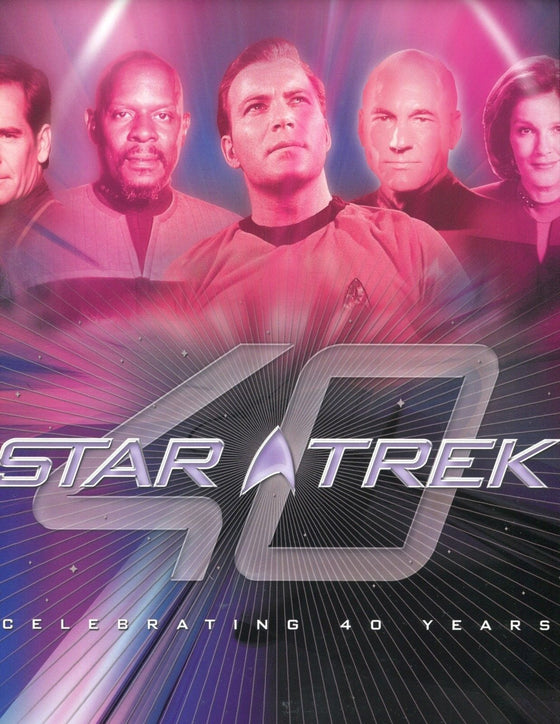 Star Trek Celebrating 40 Years Card Album