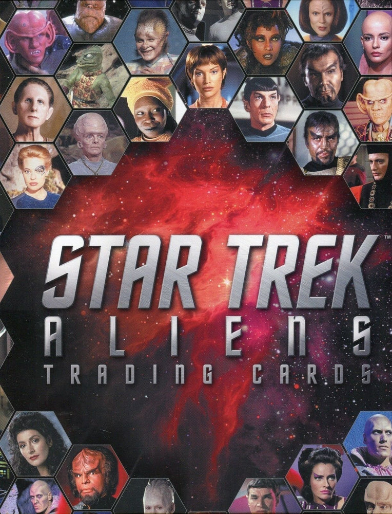 Star Trek Aliens Card Album   - TvMovieCards.com