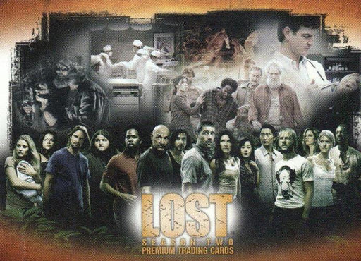 Lost Season 2 Promo Card L2-UK   - TvMovieCards.com