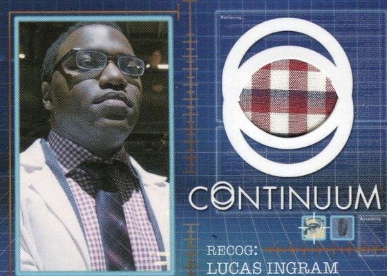 Continuum Seasons 1 & 2 Lucas Ingram Costume Card CC10 #068/125 Front