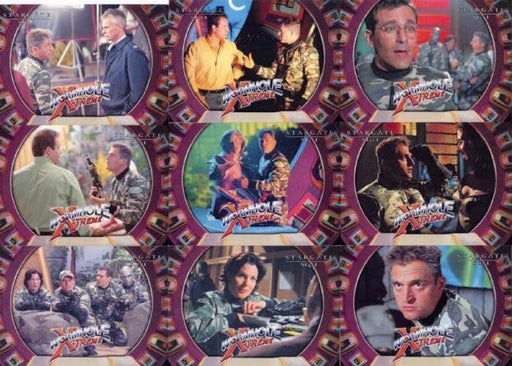 Stargate SG-1 Season Five Wormhole X-treme Chase Card Set   - TvMovieCards.com