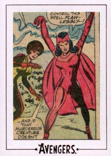 Avengers The Silver Age Comic Archive Cuts Chase Card AV45 #69/197   - TvMovieCards.com