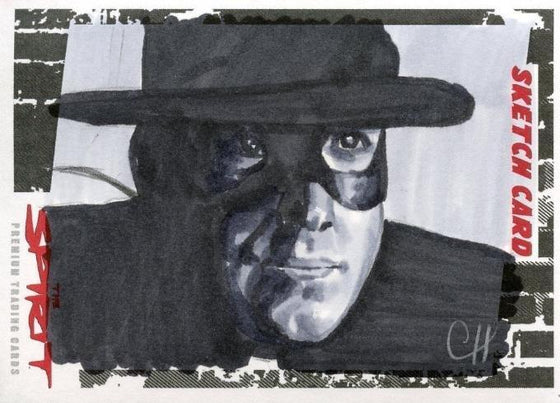 The Spirit Sketch Card by Chris Hendersen Front
