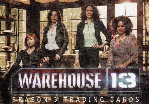 Warehouse 13 Season 3 Premium Packs Promo Card P2   - TvMovieCards.com