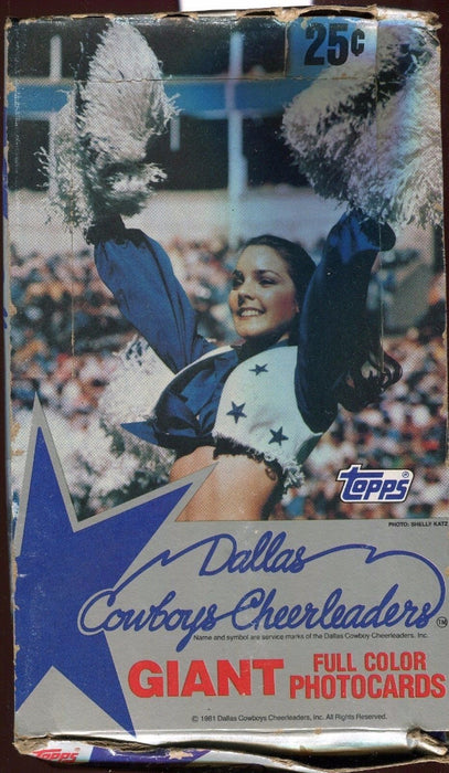 Dallas Cowboy Cheerleaders Giant Photocards Card Box   - TvMovieCards.com